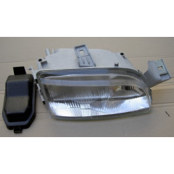 Right H1+H1 Headlamp with two reflectors (suitable) - Punto 10/1993-09/1999