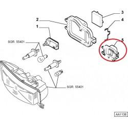 Headlight left cap - Fiat Stilo