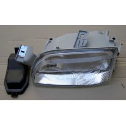 Left H1+H1 Headlamp with two reflectors (suitable) -  Punto 10/1993-09/1999
