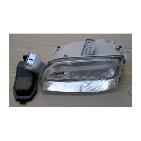 Optique H1+H1 (avec deux réflecteurs) Gauche (adaptable) - Punto 10/1993-->09/1999
