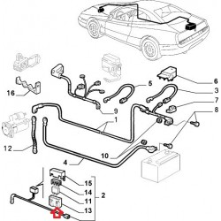 Connection - Alfa Romeo GTV , SPIDER / Lancia Kappa , Thema