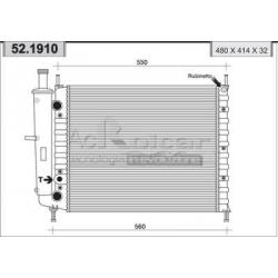 Engine cooling radiatorFiat Brava/Bravo/Marea/Palio