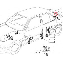 Luggage lid electric lock - Fiat Croma (1990 -- 1996)