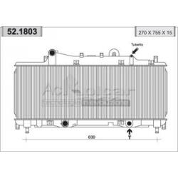 RadiatorFiat Punto 55 / 90 1600cm3
