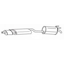 Exhaust backFiat Multipla