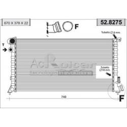 Radiateur d'eau moteur - Fiat Scudo / Ulysse / Lancia Zeta