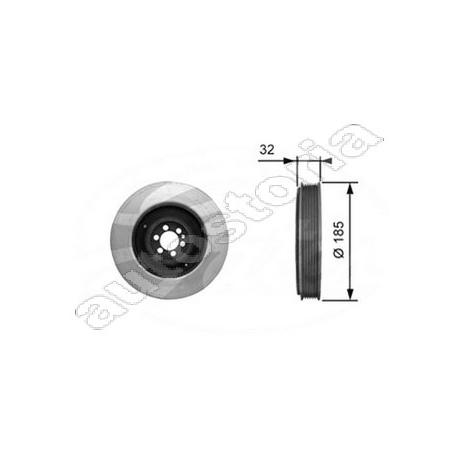 Crankshaft damper pulleyAlfa Romeo/Fiat/Lancia