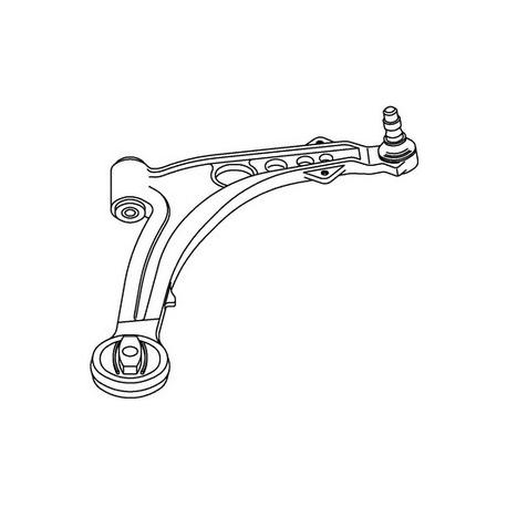 Right front suspension armFiat Punto
