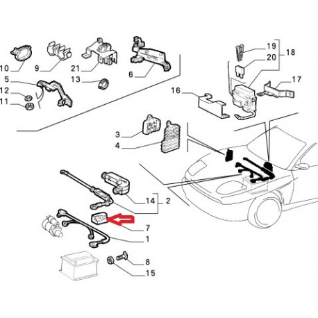 protection de connections alfa romeo 147 156 gt moteur v6 likhon frap. Black Bedroom Furniture Sets. Home Design Ideas