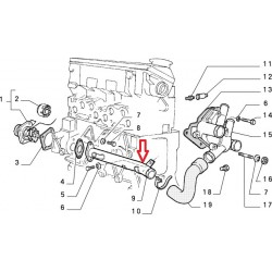 Pipe - Fiat Uno Diesel / Autobianchi Y 10