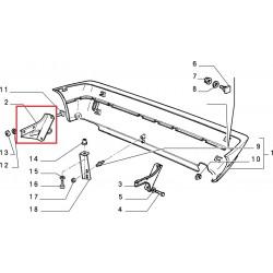 Bumper bracket - Autobianchi Y10