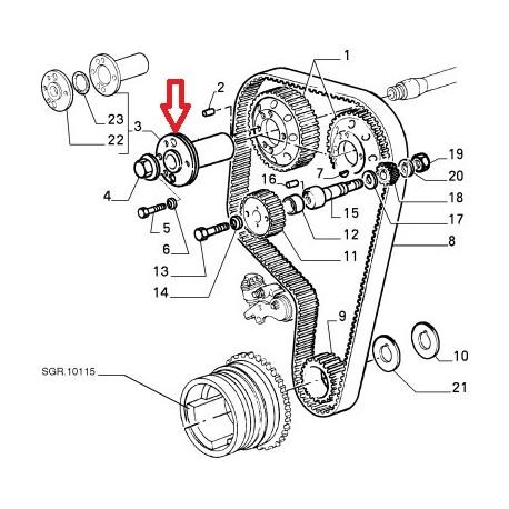 Fiat 128 Engine