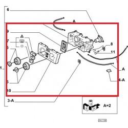 Heating control system - Lancia Ypsilon (2003 -- 2009)