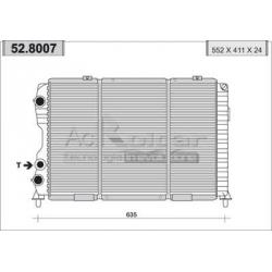 Radiateur d'eau moteurAlfa Romeo GTV/SPIDER