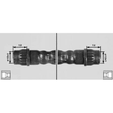 Brake hose rear [ mm ] 275Fiat/Lancia