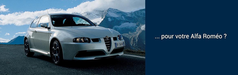 Pièces auto Alfa roméo